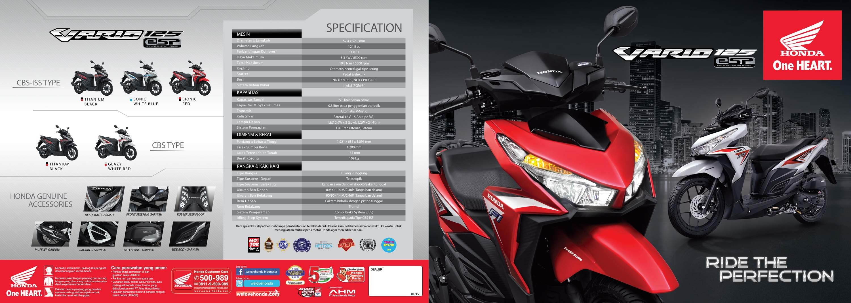 Cover Motor Vario 125 Esp Cbs Exclusive Black Daftar Harga Terbaru New 110 Grande White Kota Semarang Red Terkini Source Brosur