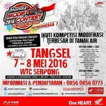Honda Modif Contest 2016 di WTC Serpong, Seberang Dealer Honda BES Motor!