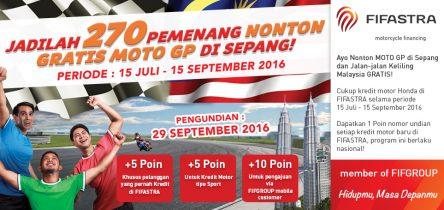 FIFASTRA Ajak Konsumen Nonton Bareng Moto GP 2016